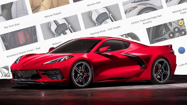 Get a Cinematic Ride with the Magnificent 2020 Chevy Corvette C8 for Rent in LA