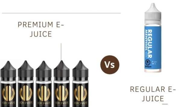 PREMIUM E-JUICE VS REGULAR E-JUICE WHICH ONE TO BUY