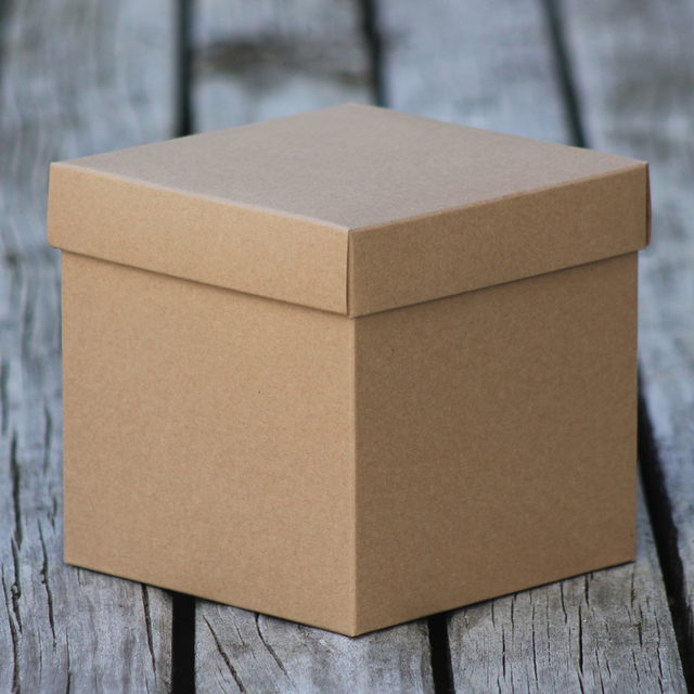 Cardboard custom cube boxes packaging solutions