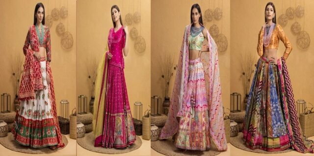 Stargaze Your Looks With Indian Bridal Wedding Dresses