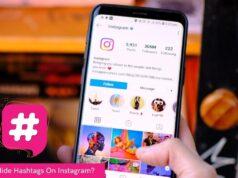 Hide Hashtags On Instagram