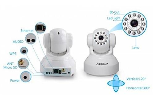 Foscam Fi8918w Wifi Camera