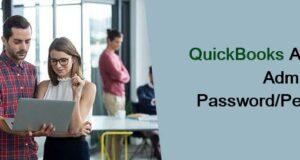 quickbooks asking for administrator password
